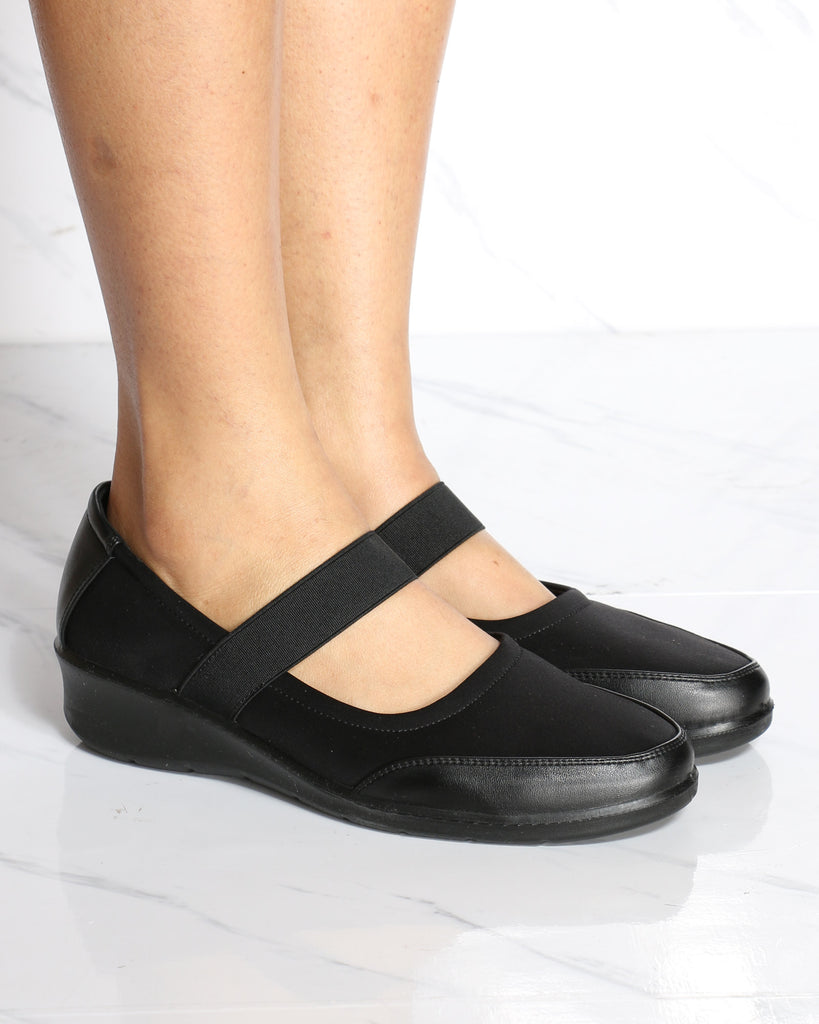 EMMA Mary-Jane Comfort Shoe - Black