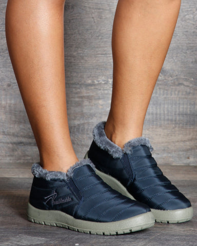 Nancy Nylon Comfort Booties
