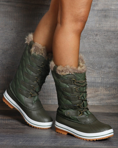 Welma Water Resistant Snow Boot