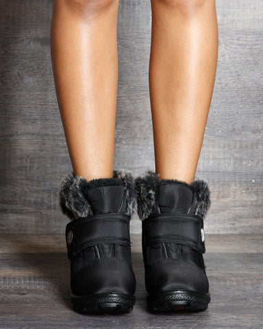 Sandra Snow Boot - Black