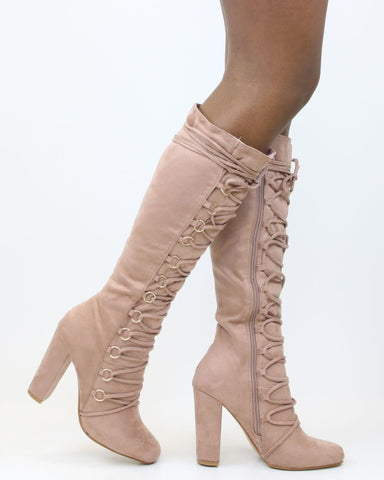 CAMILLE Lacey Heel Boot