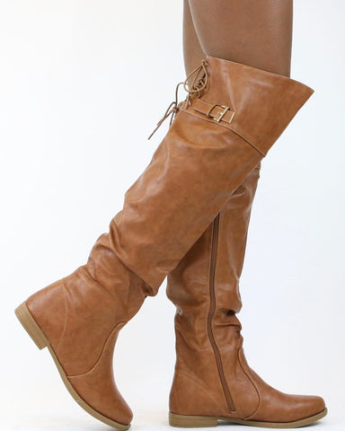 DAISY Buckled Over The Knee Boot