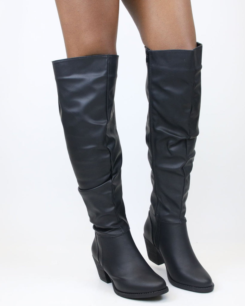 MARLEY Over The Knee Heel Boot