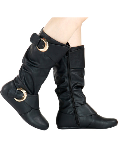 Kelly 2 Buckle Boots