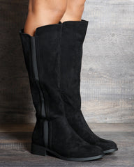 VIM VIXEN Olivia Riding Boot - Black - ShopVimVixen.com
