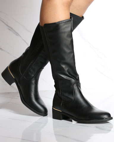 Katherine Back Elastic Riding Boot