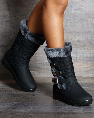 Pam Cold Weather Boot - Black