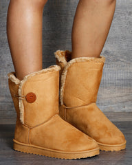 Stella Button Cold Weather Boots