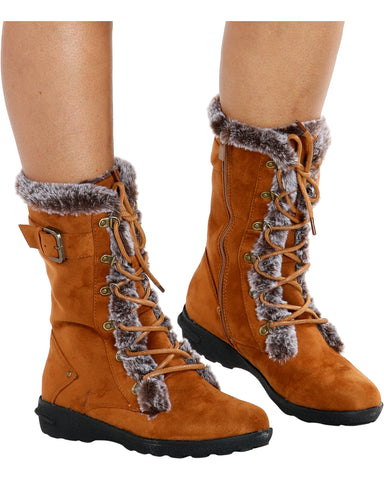 Aura Fur Lining Winter Boots