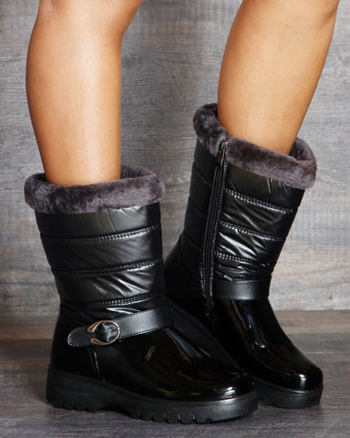 Jennifer Winter Boot - Black