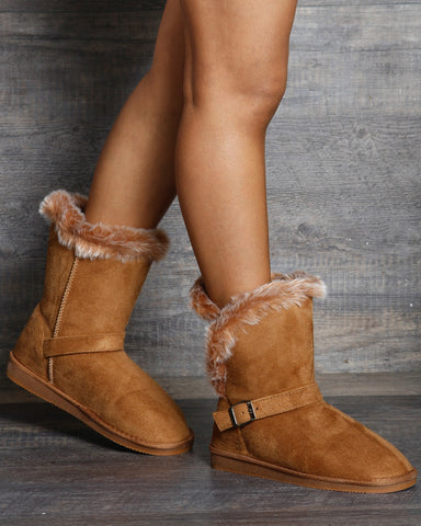 London Fur Winter Boot