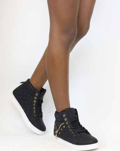 CHRISTINA Quilted Sneaker