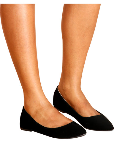 GISELLE Pointy Flats (Available in 2 Colors)