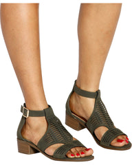 VIM VIXEN Sweet Talk Gladiator Sandals - ShopVimVixen.com
