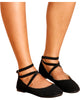 BEAUTY Ballerina Flats - Black