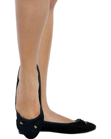 GLORIA Bow Ballet Flats (Available in 2 Colors)