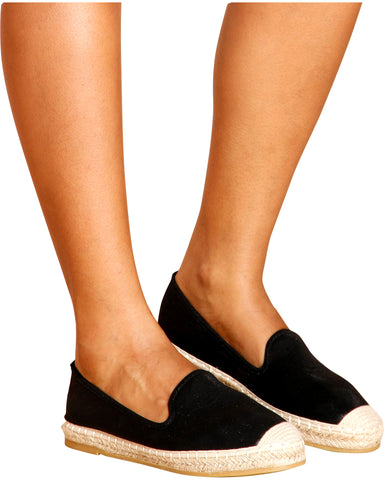 JILL Espadrilles Slip On Shoes (Available in 2 Colors)