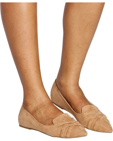 Workaholic Pointy Moccasin Flats