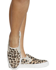 CHEETAHLICIOUS Vulcanized Slip On Shoe - Leopard
