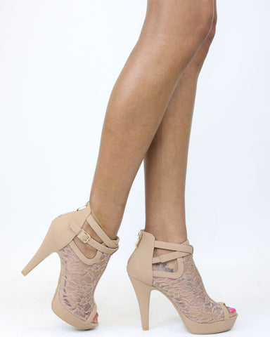 KHOLE Lacey Heel (Available in 2 Colors)