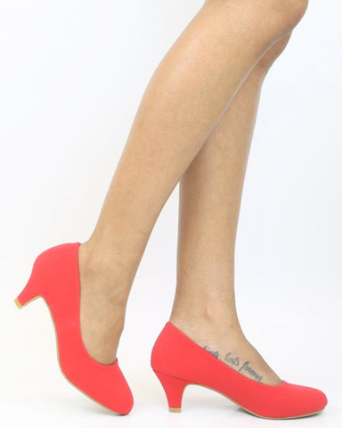 SHARDAA Low Heel Pump