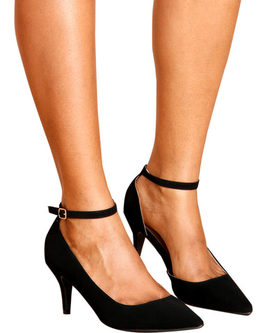 Cassey Pointy Toe Low Pumps