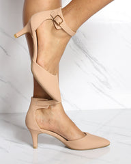 JULIA Pointy Toe Low Heel (Available in 4 Colors)