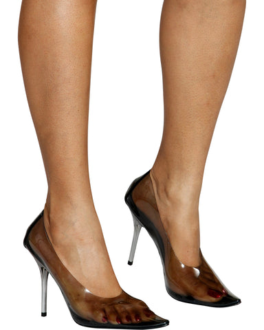 CALL ME CLAIRE Transparent Pumps (Available in 2 Colors)