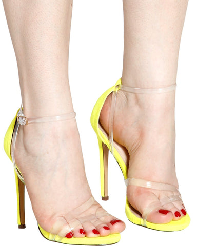 Lilo Clear Band Heels