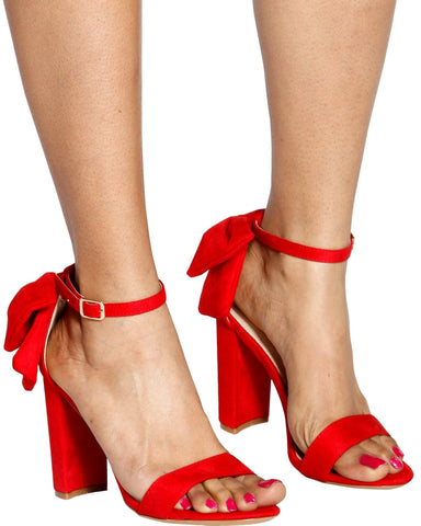 TIE ME UP Chunky Heel (Available in 2 Colors)