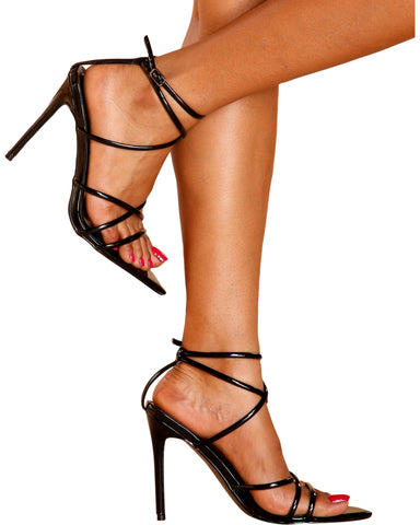 ALL YOURS Strappy Stiletto Heels (Available in 2 Colors)