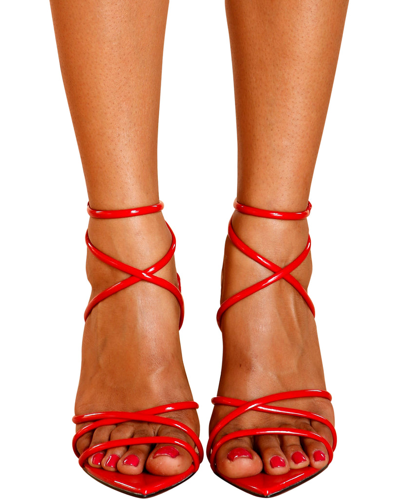 All Yours Strappy Stiletto Heels