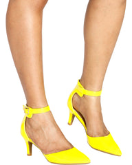 Julia Pointy Toe Low Heel