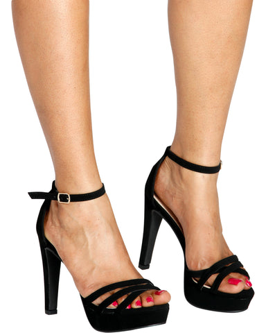 SKYLER Dressy Platform Heel (Available in 2 Colors)