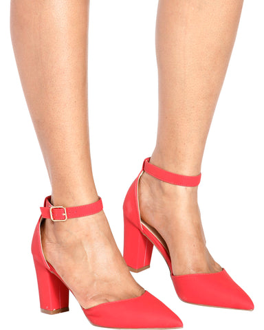Ivana Chunky Pointy Pumps