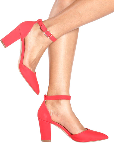 IVANA Chunky Pointy Pumps (Available in 3 Colors)