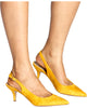 TALK BUSINESS Kitten Heel (Available in 4 Colors)