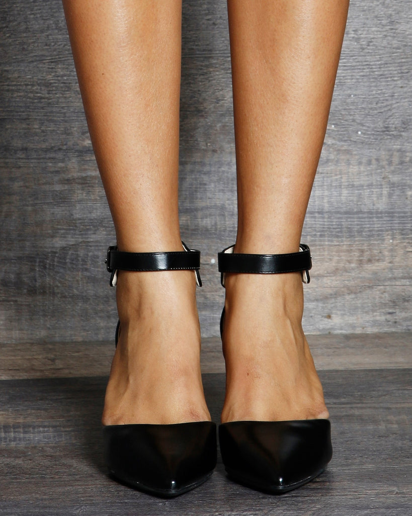 Tiana Low Pointy Heel Sandals