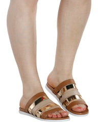 RUTH Strappy Slides (Available in 3 Colors)