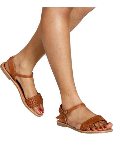 TRACEY Braided Sandal (Available in 3 Colors)