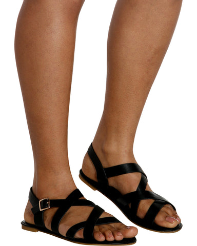 SASHA Gladiator Sandal (Available in 2 Colors)