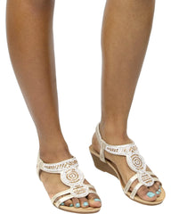 PAMELA Shining Comfort Sandal (Available in 3 Colors)