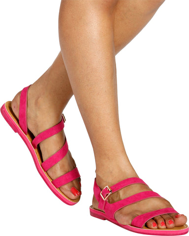 FATE Strappy Fashion Sandal (Available in 5 Colors)