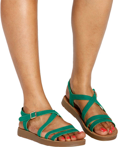 Bella Multi Strap Comfort Sandals