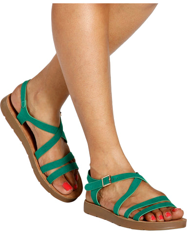 BELLA Multi Strap Comfort Sandal (Available in 6 Colors)