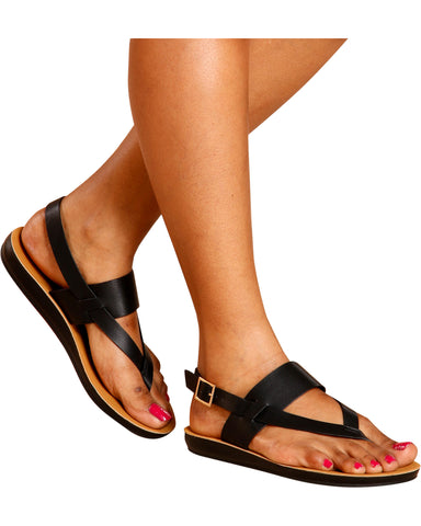 LENNY Soft Bottom Slip On Sandal (Available in 2 Colors)