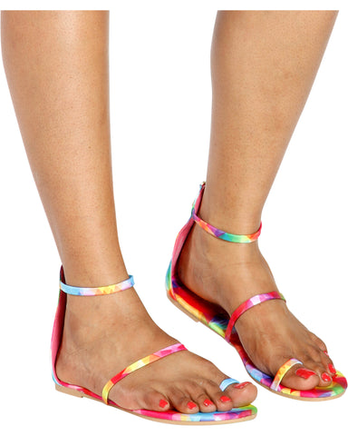 KRISTEN 3 Strap Gladiator Sandals (Available in 4 Colors)