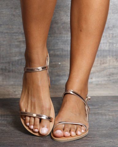 Melody Strappy Gladiator Sandals