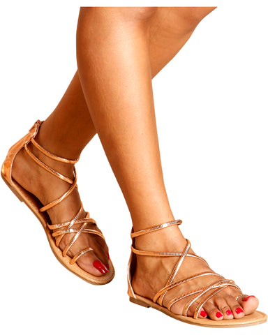 Monse Strappy Gladiator Sandals