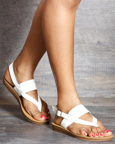 Lenny Soft Bottom Slip On Sandals